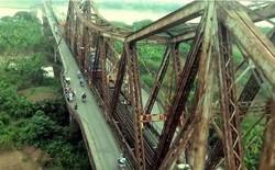 Video cầu Long Biên từ trên cao qua góc máy Revo LEAD