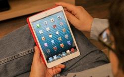 Màn hình iPad mini nhạy nhất trong số các mẫu tablet hiện nay
