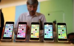 """Sức tiêu thụ iPhone 5C đang có dấu hiệu """"ì ạch"""""""