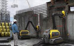 ERO: Robot phá bê tông chuyên dụng