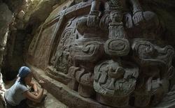 Tìm thấy bức phù điêu cổ của người Maya ở Guantemala