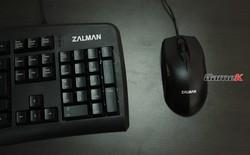 Combo phím chuột Zalman K380: Chất lượng trung bình