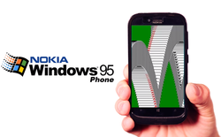 Windows 95 Phone: Siêu phẩm giả cổ tới từ Nokia