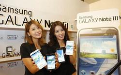 Galaxy Note 3 ghi nhận sự đổi mới về thiết kế so với Note 2