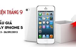 Tham gia đấu giá – Rinh iPhone 5 cùng Muamuamua
