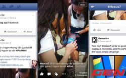 Ứng dụng Facebook mới cho iOS đã hỗ trợ thẻ hashtag