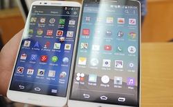 So sánh nhanh LG G3 và G2 tại Việt Nam
