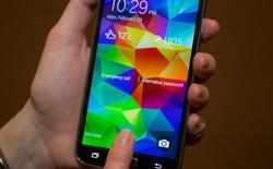 Cảm biến vân tay của Galaxy S5 chạy được với ứng dụng từ Play Store