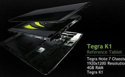 Siêu chip di động Tegra K1 vượt mặt iPad Air ở thử nghiệm đồ họa