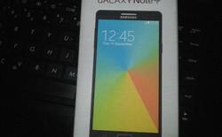 Lộ thiết kế Galaxy Note 4 in trên vỏ hộp