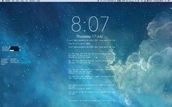 Nhận thông báo Facebook ngay trên màn hình máy Mac với GeekTool