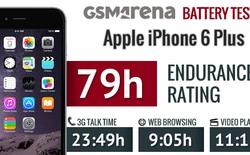 Thời lượng pin iPhone 6 Plus gây ấn tượng