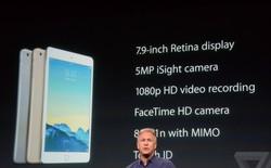 iPad mini 3 trình làng: Chỉ là iPad mini Retina với cảm biến vân tay