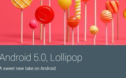 Android 5.0 Lollipop gặp lỗi khó đóng hết ứng dụng
