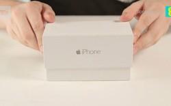 Xuất hiện video mở hộp iPhone 6 đầu tiên