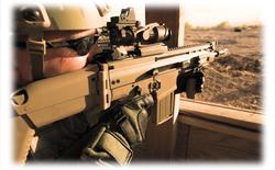 Xem khẩu FN SCAR nã đạn