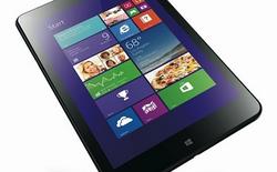 Đối thủ của iPad mini, ThinkPad 8 ra mắt với giá hơn 8 triệu đồng
