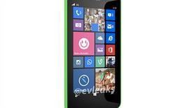 MWC 2014 - Xuất hiện ảnh báo chí của Lumia 630