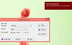 Bản cập nhật của bộ gõ tiếng Việt Unikey 4.2 RC3 ra mắt, sửa nhiều lỗi