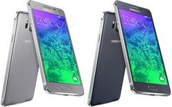 Galaxy Alpha viền kim loại, màn hình 4,7 inch chính thức ra mắt