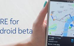 HERE Maps phủ sóng cho toàn bộ các thiết bị Android