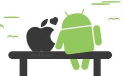 iOS 7 có mặt trên 87% thiết bị, phát triển nhanh hơn Android KitKat 4.4