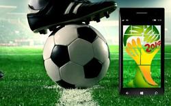 Bộ đôi phần mềm di động để bạn sống cùng World Cup