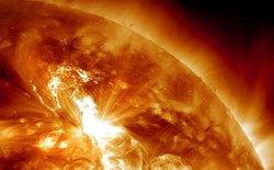 Trái đất hứng chịu bão Mặt trời trong ngày hôm nay, thứ 6 ngày 13