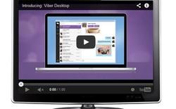 Ứng dụng Viber Desktop nâng cấp phiên bản mới hỗ trợ giao diện phẳng