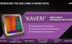 AMD công bố chip Kaveri với sức mạnh đồ họa vượt trội