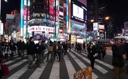 Ngắm Tokyo về đêm qua ảnh chụp từ Xperia Z2