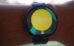 Cập nhật Android Wear Lollipop cho smartwatch qua OTA
