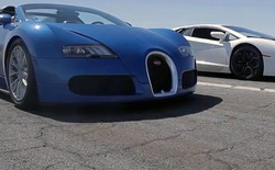 [Video] Bugatti Veyron, Lamborghini Aventador, Lexus LFA và McLaren MP4-12C cùng đua tốc độ