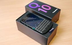 BlackBerry Q10 chính hãng bàn phím Thái 4,9 triệu ở VN