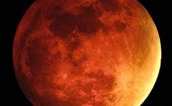 Hiện tượng Mặt trăng máu sẽ xuất hiện vào ngày 15/4