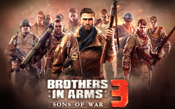 Gameloft bất ngờ ra mắt trailer của Brothers In Arms 3