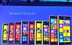 Toàn bộ smartphone Lumia chạy Windows Phone 8 sẽ được cập nhật Windows Phone 8.1