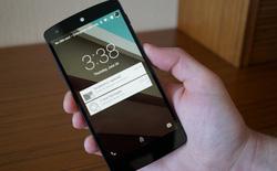 Đã có thể cài đặt Android L bản thử nghiệm trên Nexus 4
