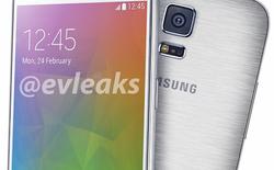 Lộ ảnh rõ nét Galaxy S5 Prime vỏ kim loại cao cấp