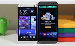 Xuất hiện video so sánh HTC One và HTC M8