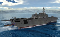 Sản xuất tàu chiến bằng máy in 3D