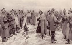 Ngày 25/12: Bắt tay quân địch mừng giáng sinh trong chiến tranh thế giới thứ I