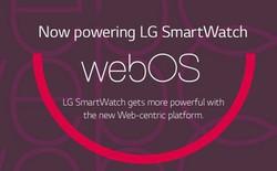 LG sắp tung smartwatch chạy Web OS