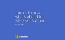 Microsoft tổ chức sự kiện đám mây vào 20/10