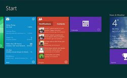 Windows 9 hỗ trợ Live Tile động và trung tâm thông báo?