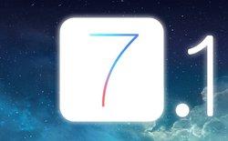 Apple bất ngờ tung bản cập nhật iOS 7.1 với nhiều tính năng mới