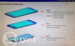 Xuất hiện số đo chính xác của 3 bản iPhone 6 mới