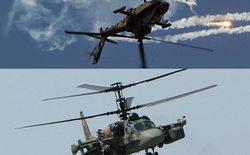 So sánh sức mạnh trực thăng số 1 của Nga-Mỹ