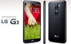 LG G3 rò rỉ cấu hình chi tiết trước ngày ra mắt