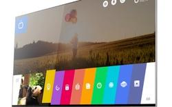 [CES 2014] TV dùng WebOS: Tham vọng nhỏ trên màn hình lớn của LG